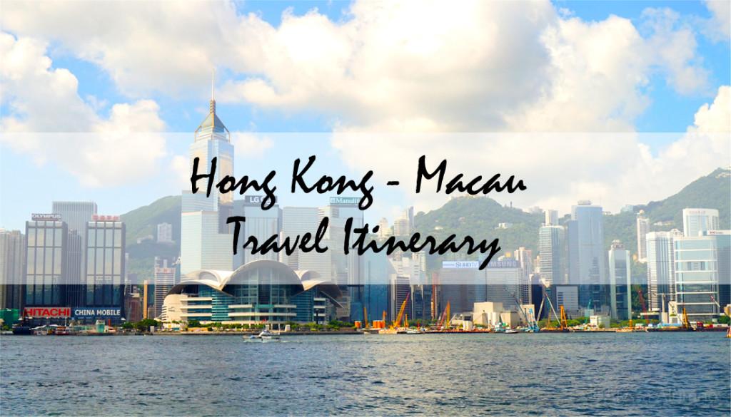 HongKongMacauTravelItinerary