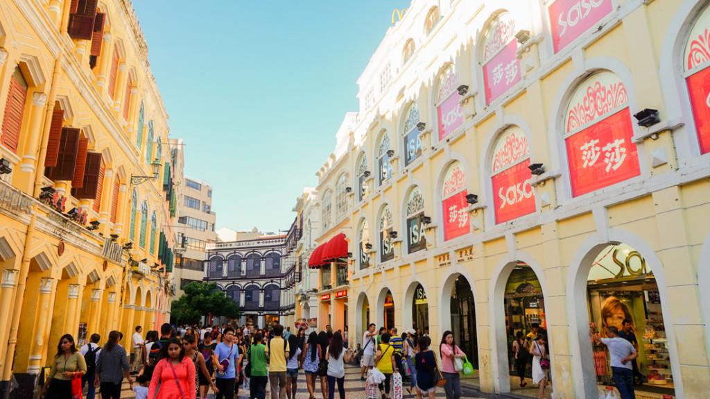 Macau - Senado Square shopping