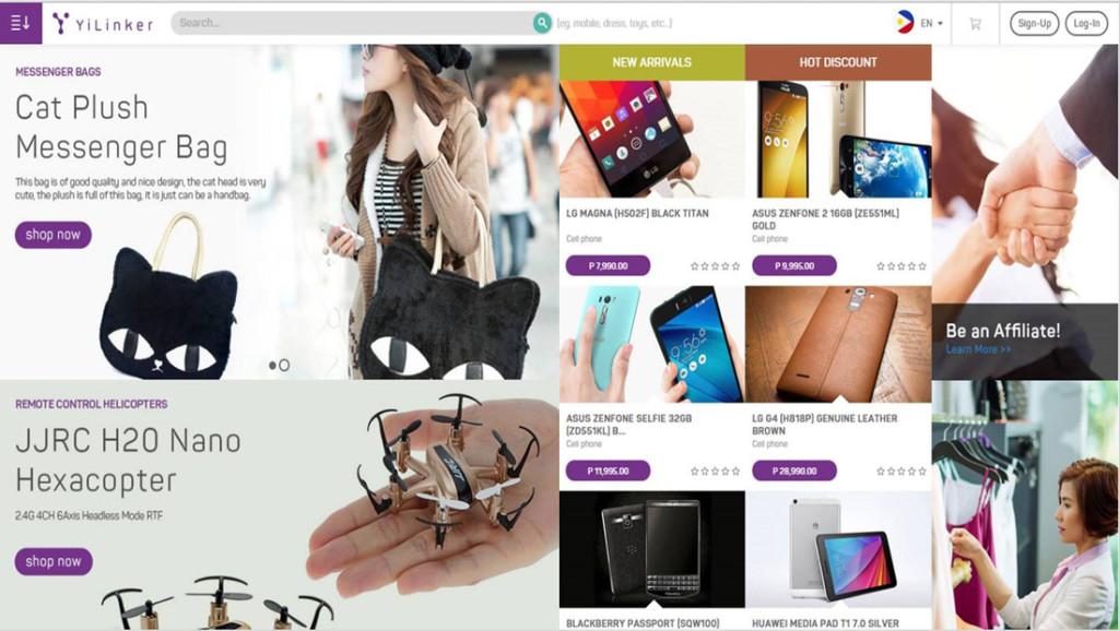 YiLinkers Shopping Site